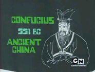 Confucius on Monitor