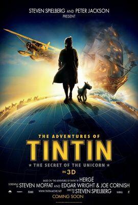 Tintin movie poster 01