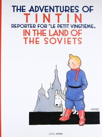 Tintin in the Land of the Soviets Egmont hardcover