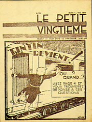 Le Petit Vingtieme, Tintin in the Land of the Soviets