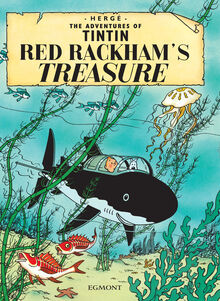 Red Rackham's Treasure Egmont