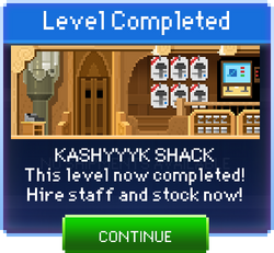 Message Kashyyyk Shack Complete
