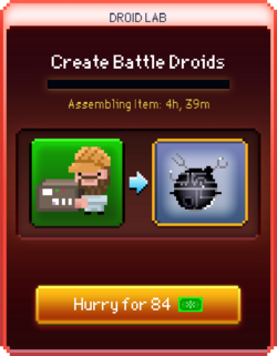Battle Droids start