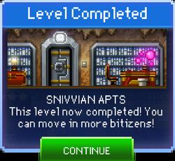 Message Snivvian Apts Complete