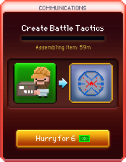 Battle Tactics start
