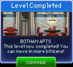 Message Bothan Apts Complete