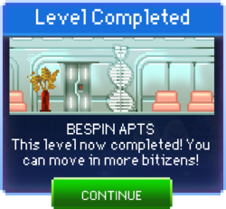 Message Bespin Apts Complete