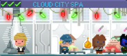 Decorated Cloud City Spa