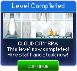 Message Cloud City Spa Complete