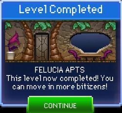 Message Felucia Apts Complete
