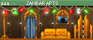 Decorated Zanbar Apts