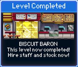 Message Biscuit Baron Complete