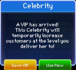 Message Celebrity