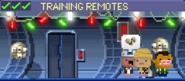 Decorated Training Remotes