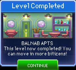 Message Balnab Apts Complete