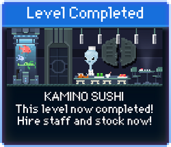 Message Kamino Sushi Complete