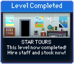 Message Star Tours Complete