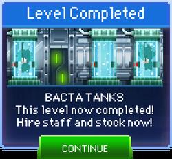 Message Bacta Tanks Complete