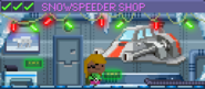 Decorated Snowspeeder Shop