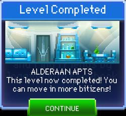 Message Alderaan Apts Complete