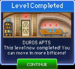 Message Duros Apts Complete
