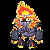Teen Fire Golem