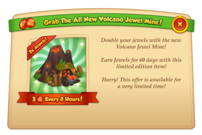 Modal featured upgrade volcanoJewelMine@2x
