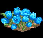 Decoration 1x1 flowergarden blue tn@2x