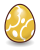 Egg eastermonster gold@2x