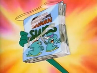 Immature Radioactive Samurai Slugs 1st comic book issue