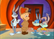 Bunnies and fudd, the first episode of tta