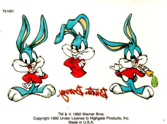 File:Buster Bunny Tattoo.JPG