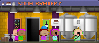 Tiny Tower Soda Brewery