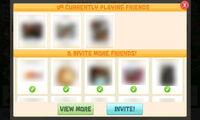 TinySocial screen Invite-FBfriendlist