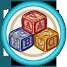 Goals icon alphabetStones@2x