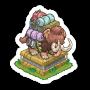 Sticker safarimammoth@2x