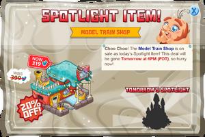 Modal spotlight modeltrain@2x
