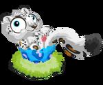 Snowleopard baby@2x