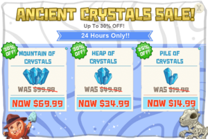 Modals ancientCrystalsSale iOS@2x