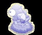 Ghost pachycephalosaurus baby@2x