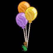 Decoration circusballoons yellow thumbnail@2x