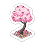 Sticker cherryblossomtree@2x