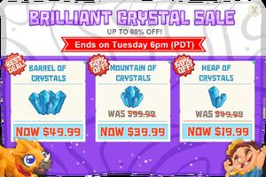Modals crystalSaleBrilliant@2x