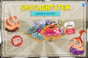 Spotlight item jurassicQuarry@2x
