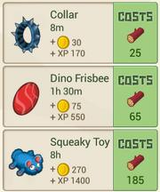 RecipeMenu DinoToyStore