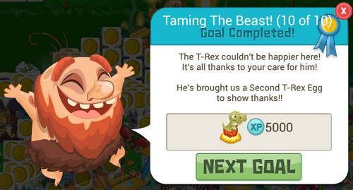 Second TREX Reward
