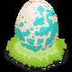 Purplebambiraptor egg@2x
