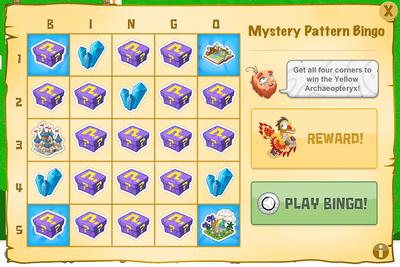 Midspring mystery bingo