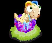 Rainbowdilophosorus baby@2x