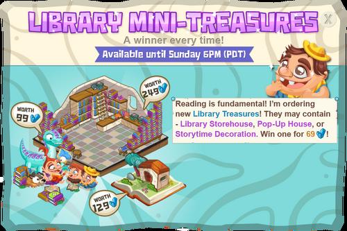 Modals libraryMiniTreasures@2x
